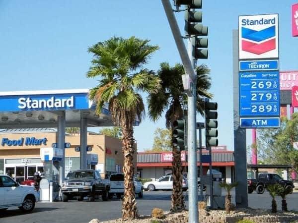 La gasolina tiene su precio