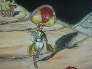 Un viaje entre hadas y tehuanas: el arte de miguel toledo guzmán