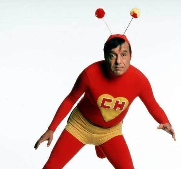 Beware the red grasshopper, el chapulin colorado!