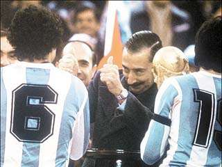 El mundial de fútbol 1978, gloria y verguenza