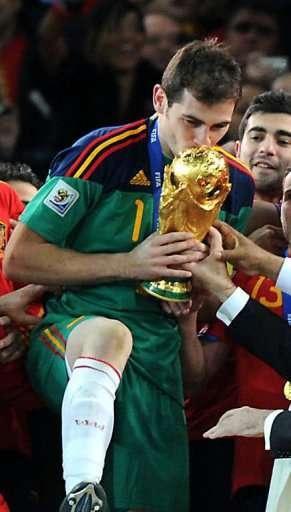 Desde españa: la roja, campeona del mundo