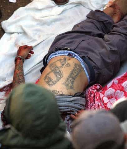 Impunidad y violencia en el salvador