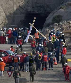 Mineros chilenos enterrados vivos