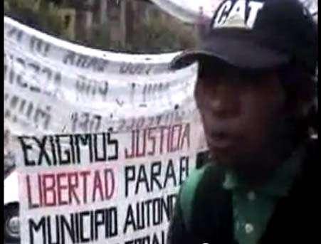 Autonomías indígenas y justicia para san juan copala