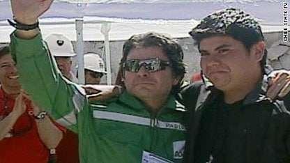 Avanza exitosamente el rescate de los mineros chilenos