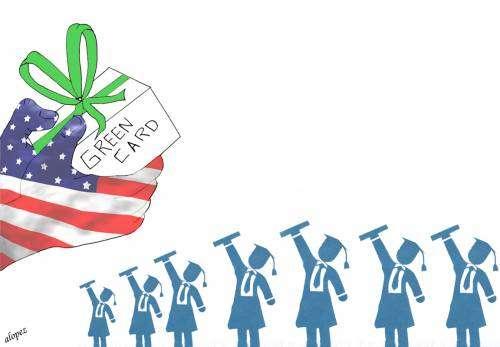 La green card como regalo de graduación
