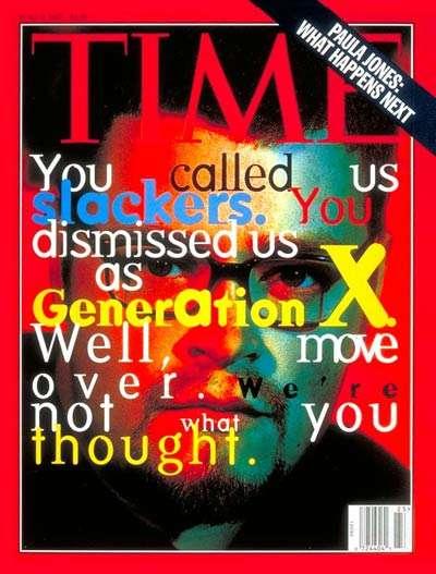 La generación x