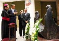 Salvadorans question obama on anniversary of romero's death