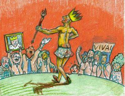 Tijuana blues: el rey desnudo y el poeta
