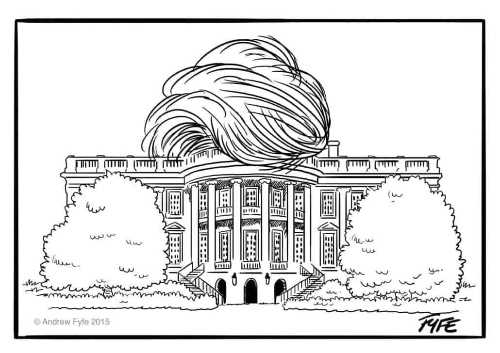 Una casa blanca de locos