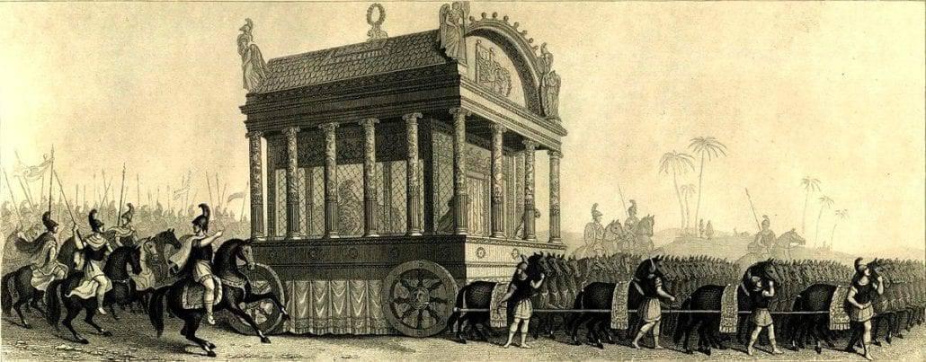 Funeral de Alejandro Magno, siglo XIX, W. Commons
