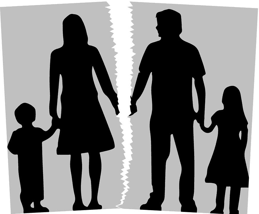 Los divorcios cuestan caro; pero quien los paga son los hijos.