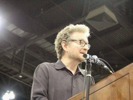 En northridge, ca: «gabriel lerner, el ex soldado, poeta y periodista»