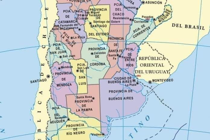 El mapa electoral argentino, por david metral