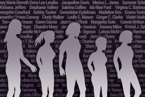 Base de datos de mujeres asesinadas… por hombres