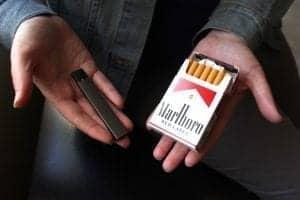 """Después que """"vapean"""", vuelven a fumar cigarrillos"""