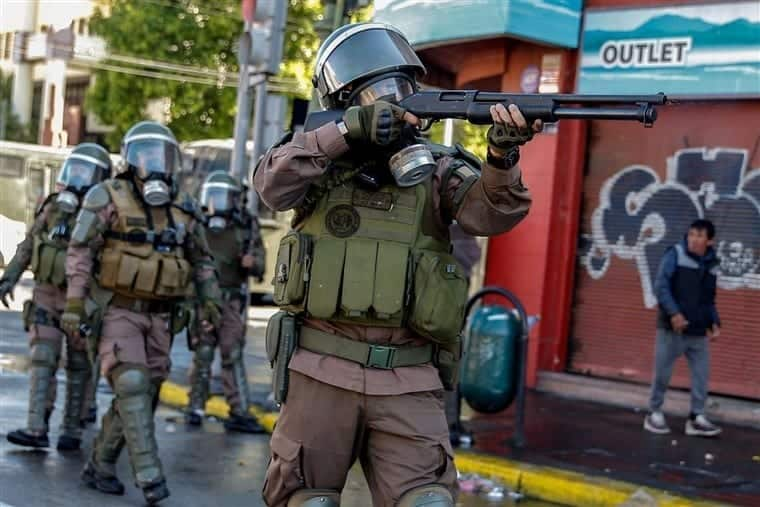 Violentos e indignados