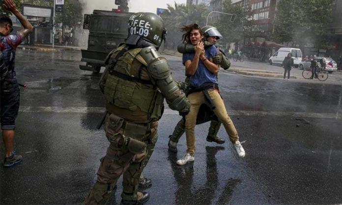 Chile: la violencia económica y política del estado, por patricio zamorano