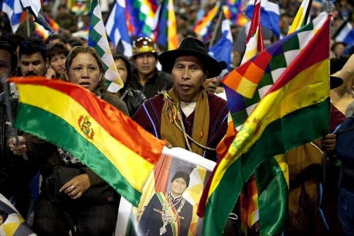 Golpe de estado y represión en bolivia, por david metral