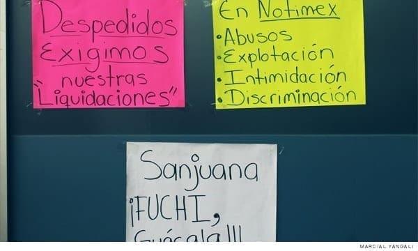 Notimex: alegan violencia de género, despidos masivos
