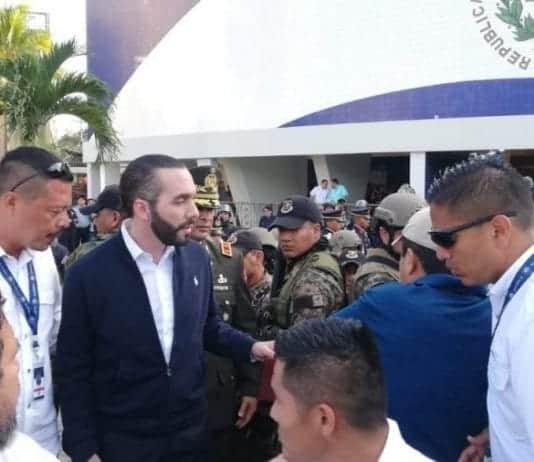 Repudian la militarización de la asamblea legislativa salvadoreña