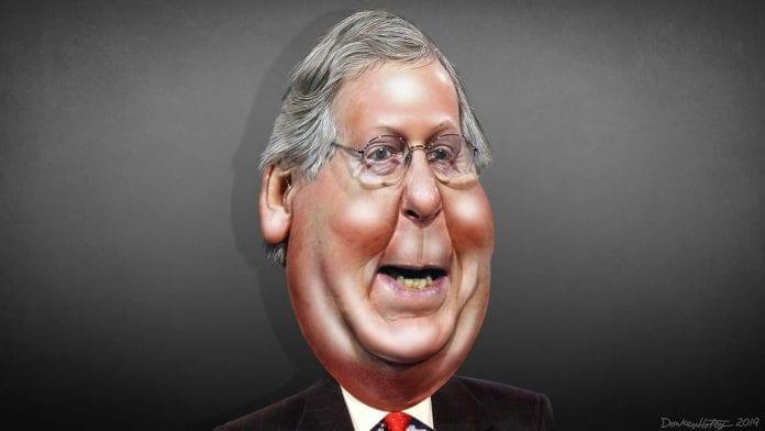 Republicanos patéticos Paquete de ayuda con mitch mcconnell