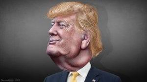 Trump, presidente de un país dividido