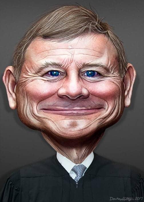 John Roberts   Caricature 35632162345