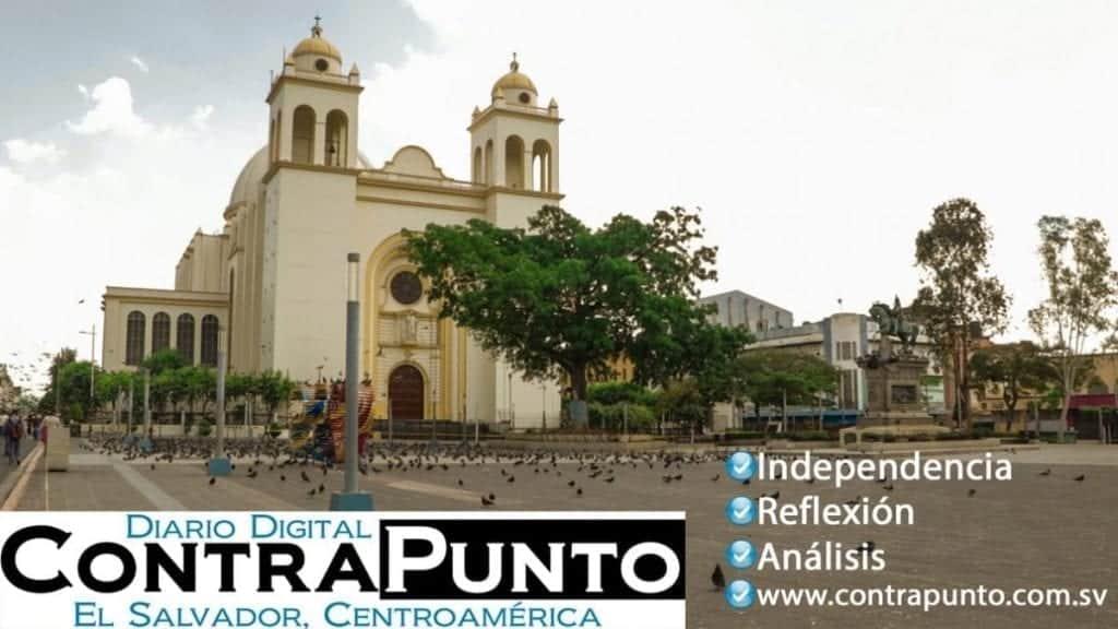 Catedral en San Salvador, El Salvador