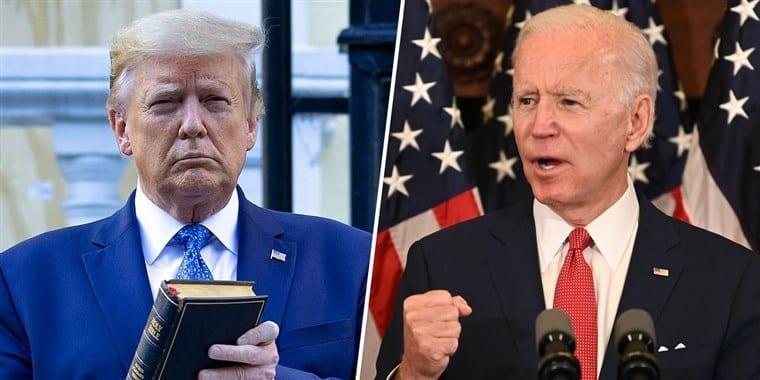 Contra Trump, Joe Biden para Presidente