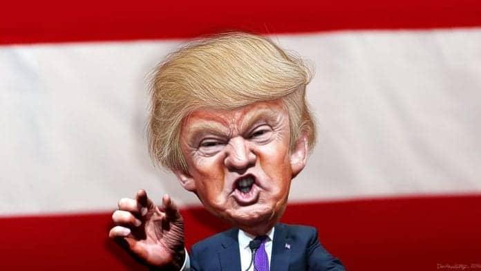 el cinismo del presidente Trump