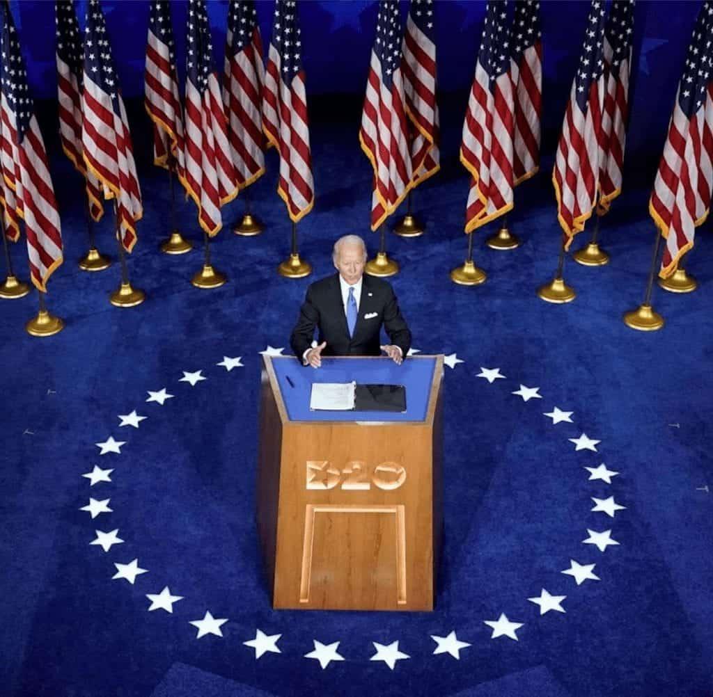 Biden para Presidente: en la Convención Demócrata