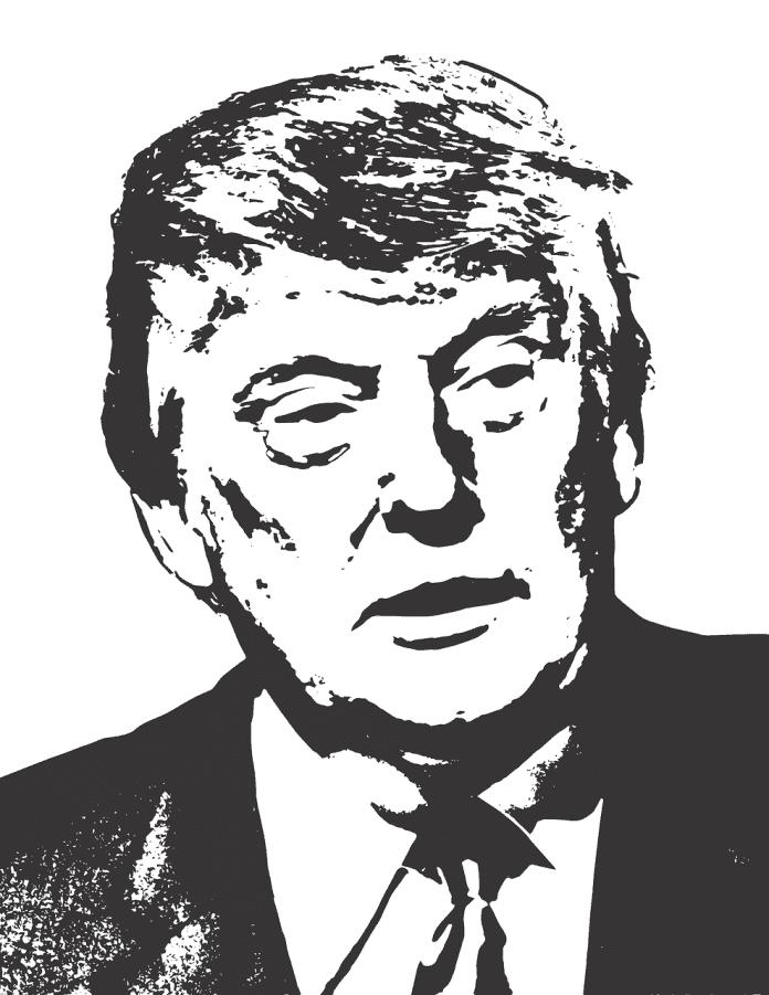 Diujo lineal de Trump