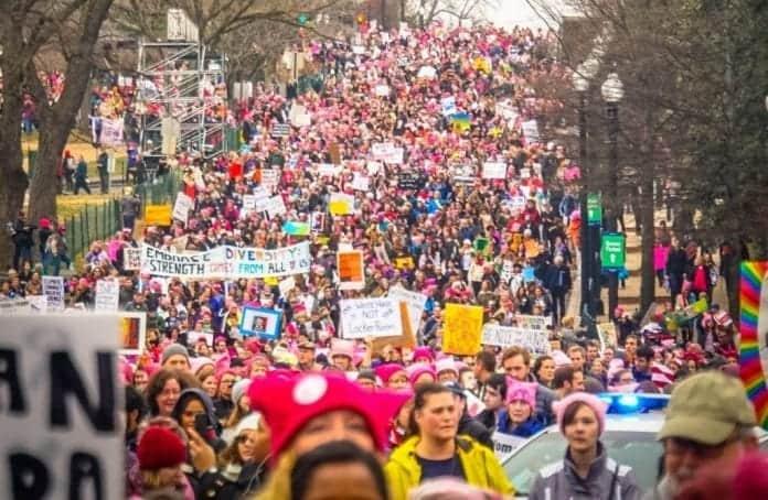 Debemos participar: Protestas contra Tump en Washington