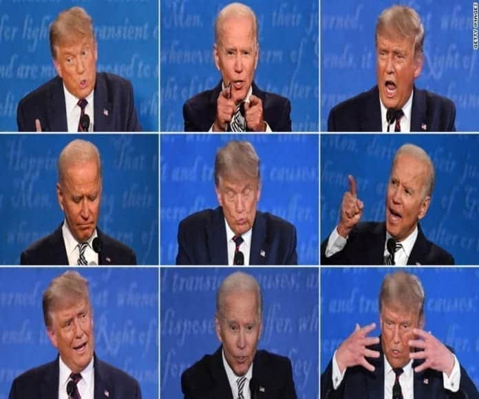 Debate presidencial, debate Trump Biden, primer debate presidencial