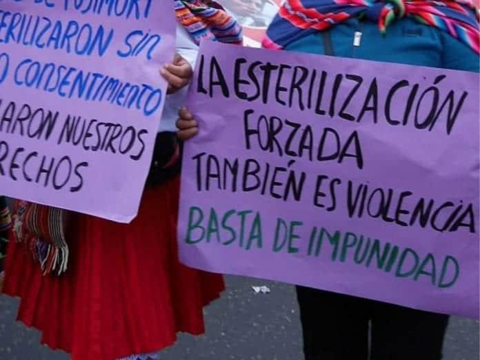 Forced Sterilization Esterilizaciones forzadas y protestas