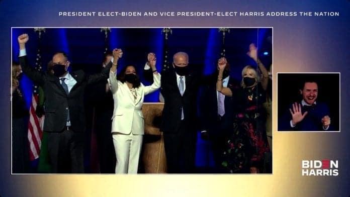 Joe Biden se dirige a la nación como presidente electo