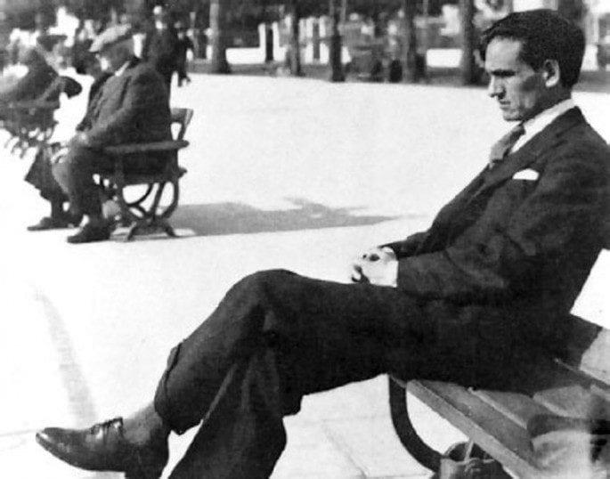 Cesar Vallejo En Niza 1929