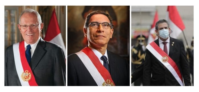 Presidentes destituidos del Perú