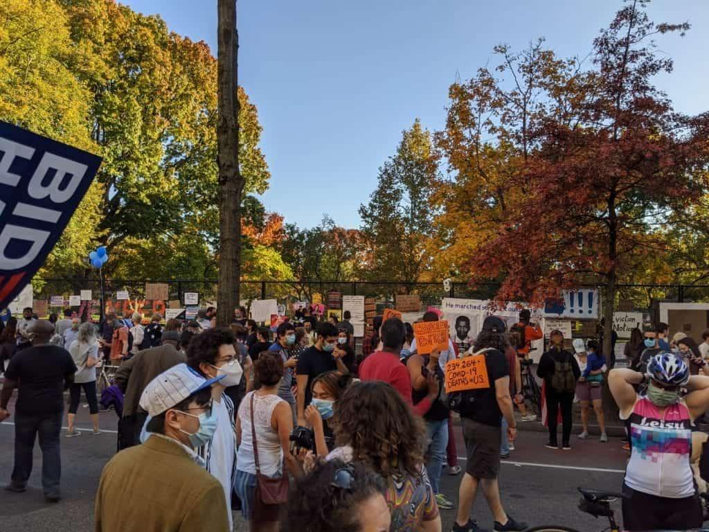 BLM Plaza DC, Mcpherson Square / Photo: Mark Lerner