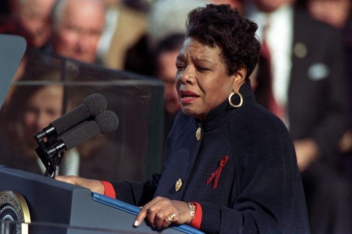Poetas y presidentes: Maya Angelou