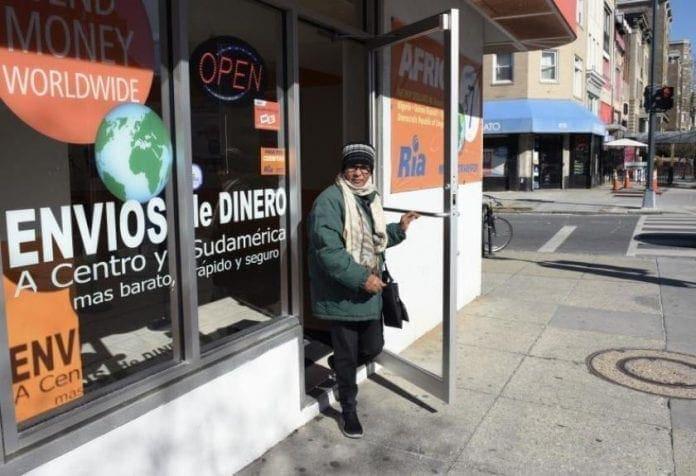 Remesas a El Salvador