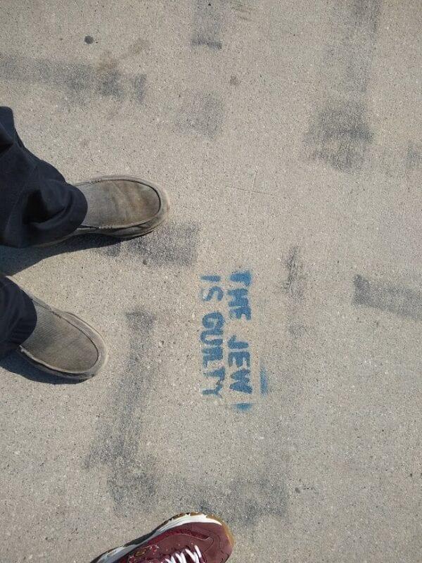Graffiti antisemita