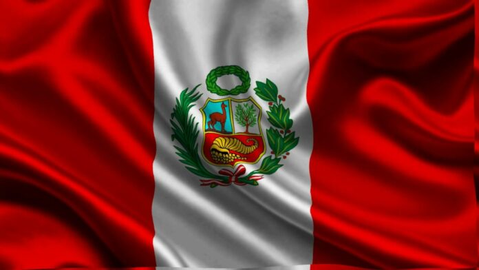 Bandera del Peru Pedro Castillo