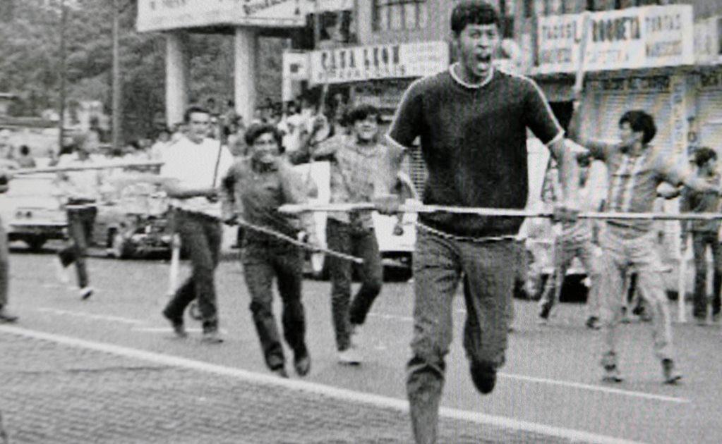 Protestas estudiantiles el halconazo 1971 Diaz Ordaz