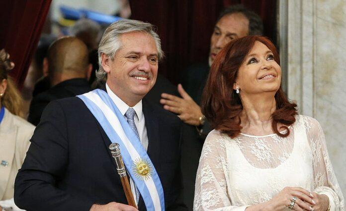 Alberto Fernandez y Cristina Kirchner